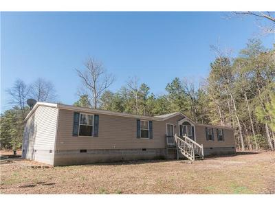 King William County Single Family Home For Sale: 588 King William Road