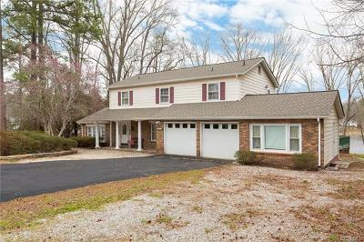 Colonial Heights VA Single Family Home For Sale: $339,500