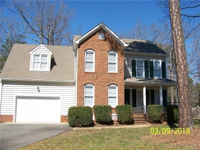 Hanover County Rental For Rent: 9026 Coolwater Lane