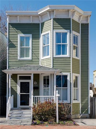 Richmond Single Family Home For Sale: 518 North 26th Street
