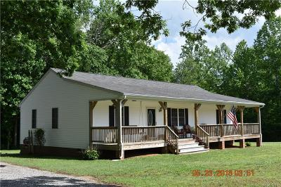 Nottoway County Single Family Home For Sale: 2564 Cellar Creek Road