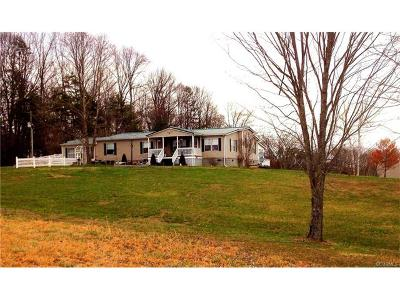 Farmville Single Family Home For Sale: 151 Ligontown Road