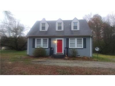 Hanover Single Family Home For Sale: 10108 Ashcake Road