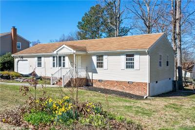 Colonial Heights Single Family Home For Sale: 3806 Conduit Road
