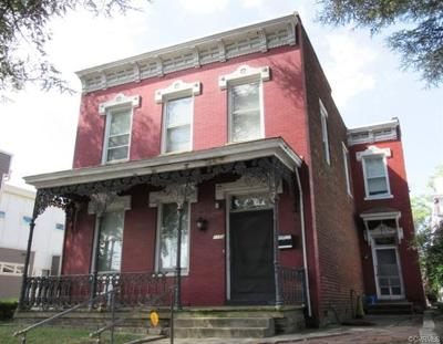 Richmond Single Family Home For Sale: 1109 Bainbridge Street