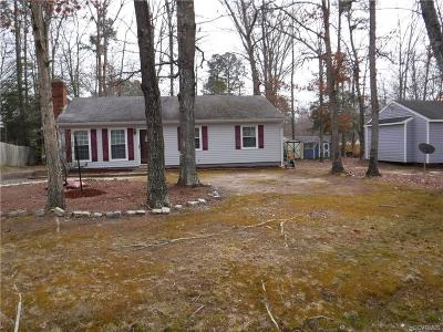 Chesterfield VA Single Family Home For Sale: $159,950