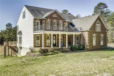 Goochland Single Family Home For Sale: 1176 Lickinghole Road