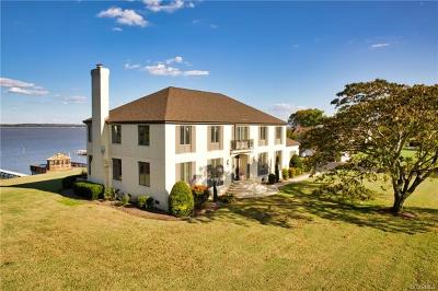 Tappahannock VA Single Family Home For Sale: $925,000