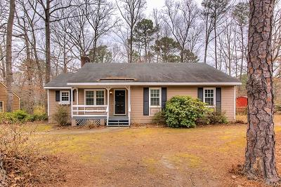 Chesterfield VA Single Family Home For Sale: $184,950