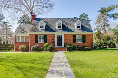 Richmond Single Family Home For Sale: 7015 West Franklin Street