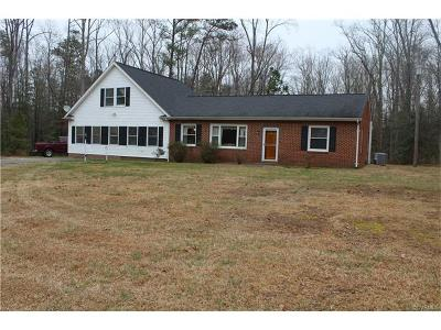 Mechanicsville Single Family Home For Sale: 10152 Georgetown Road