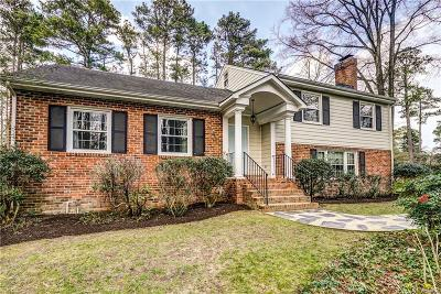 Richmond Single Family Home For Sale: 8312 University Drive