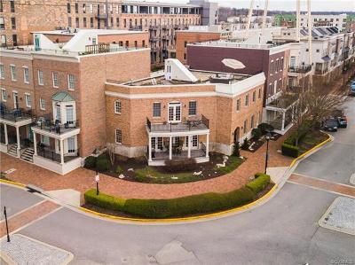 Henrico County Condo/Townhouse For Sale: 4901 Old Main Street #4901