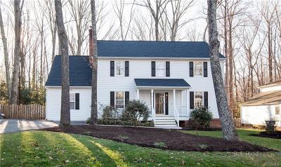 Chesterfield VA Single Family Home For Sale: $299,950