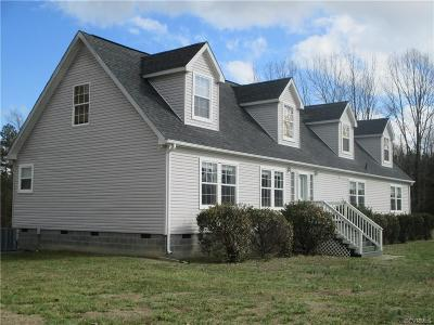 Blackstone VA Single Family Home For Sale: $342,500