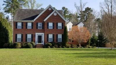 Chesterfield VA Single Family Home For Sale: $409,000