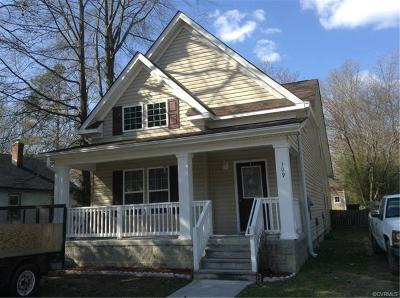 Williamsburg Single Family Home For Sale: 309 Roland Street
