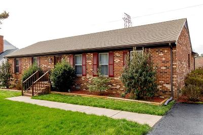 Chesterfield VA Single Family Home For Sale: $174,900