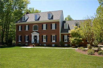 Midlothian Single Family Home For Sale: 2602 Autumnfield Road
