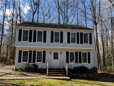 Chesterfield VA Single Family Home For Sale: $195,000