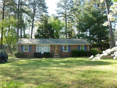 Henrico County Rental For Rent: 1011 Ethelwood Road