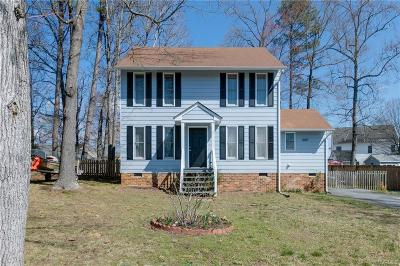 Chesterfield VA Single Family Home For Sale: $199,900