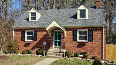Richmond Single Family Home For Sale: 4103 Forest Circle