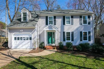 Henrico Single Family Home For Sale: 2609 Stonemill Place