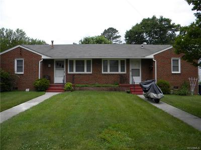 Colonial Heights VA Multi Family Home For Sale: $179,990
