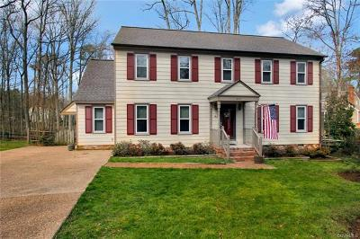Chesterfield VA Single Family Home For Sale: $274,750