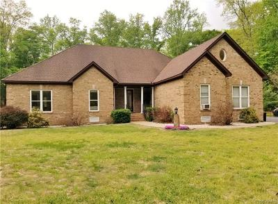 Aylett Single Family Home For Sale: 539 Woodruff Drive