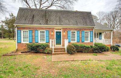 Goochland Single Family Home For Sale: 2960 Pitts Drive