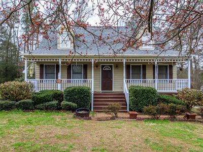 Prince George VA Single Family Home For Sale: $194,900