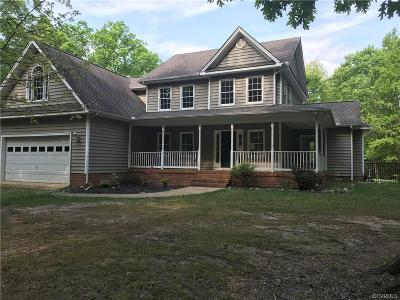 Powhatan County Single Family Home For Sale: 1967 Cook Road