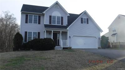 Prince George VA Single Family Home For Sale: $192,900