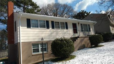 Hopewell VA Single Family Home For Sale: $99,950