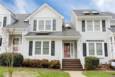 Chesterfield County Condo/Townhouse For Sale: 8037 Buford Commons #8037