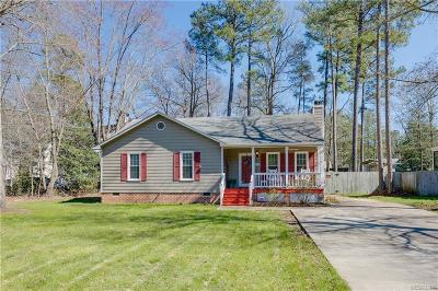 Chesterfield VA Single Family Home For Sale: $169,900