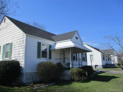 Hanover County Single Family Home For Sale: 8015 Davis Avenue