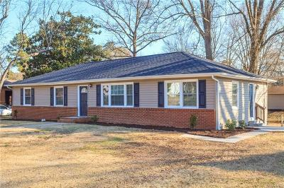 Hopewell VA Single Family Home For Sale: $163,500