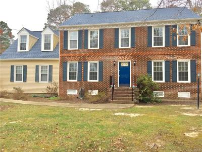 Chesterfield VA Single Family Home For Sale: $235,000