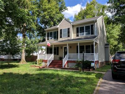 Prince George VA Single Family Home For Sale: $196,900