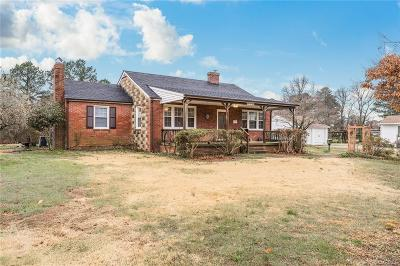 Chesterfield County Single Family Home For Sale: 409 Bermuda Hundred Road