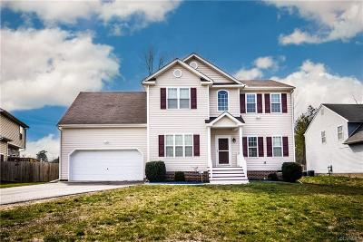 Chesterfield VA Single Family Home For Sale: $239,900