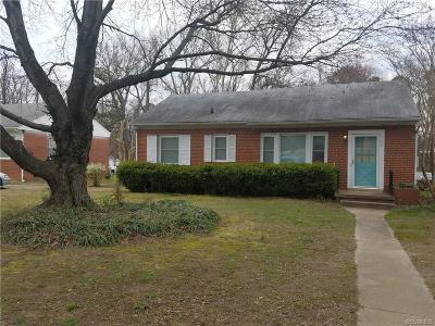Richmond Single Family Home For Sale: 1708 Glenview Road