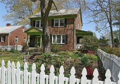 Petersburg Single Family Home For Sale: 1655 Fairfax Street