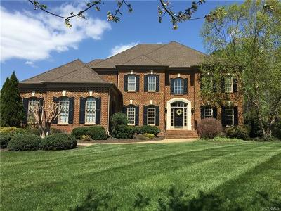Midlothian Single Family Home For Sale: 16212 Mabry Mill Drive
