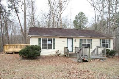 Ruther Glen VA Single Family Home Sold: $116,000