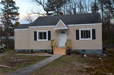 Henrico County Single Family Home For Sale: 2413 Agra Drive