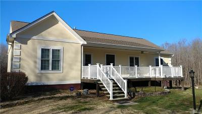 Dinwiddie County Single Family Home For Sale: 16508 Satisfaction Lane